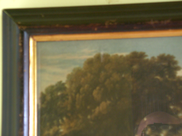 Orientalist Pair of Chromo-lithographs In Faux Rosewood frames